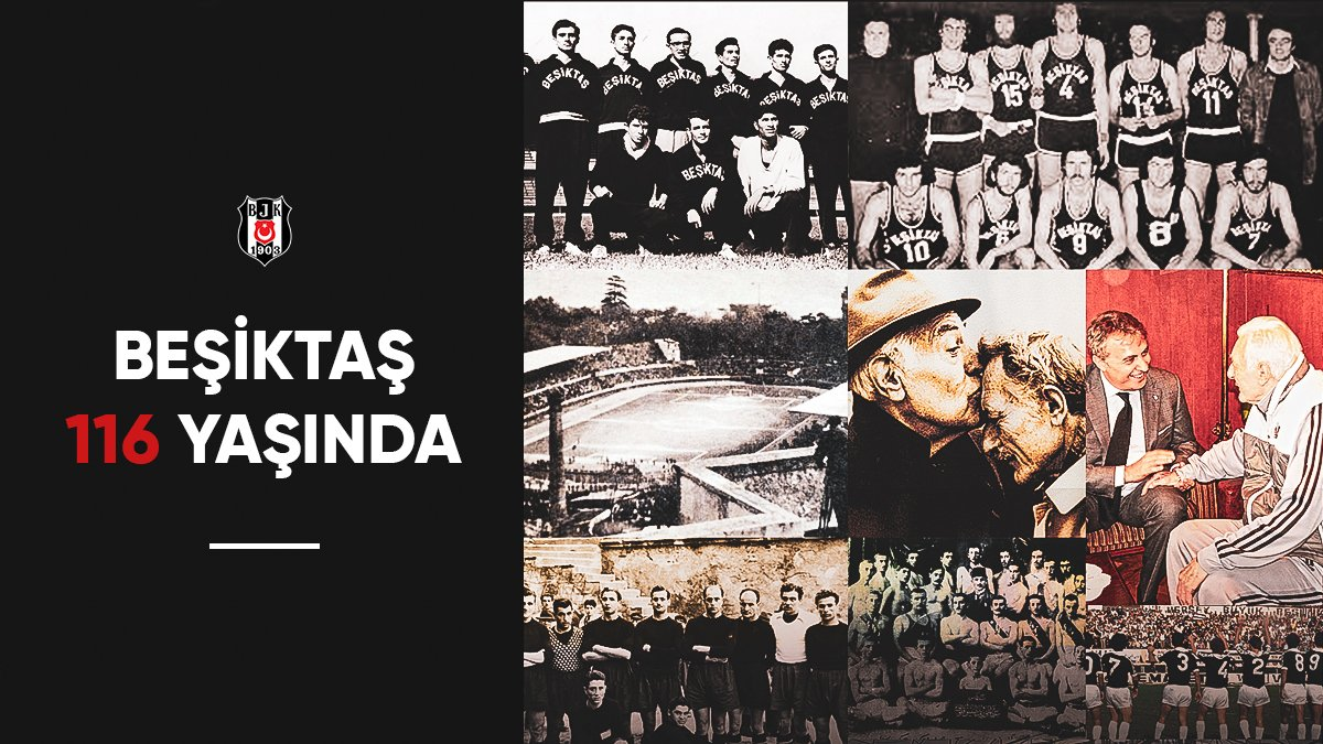 Beşiktaş JK's photo on #Beşiktaş116Yaşında