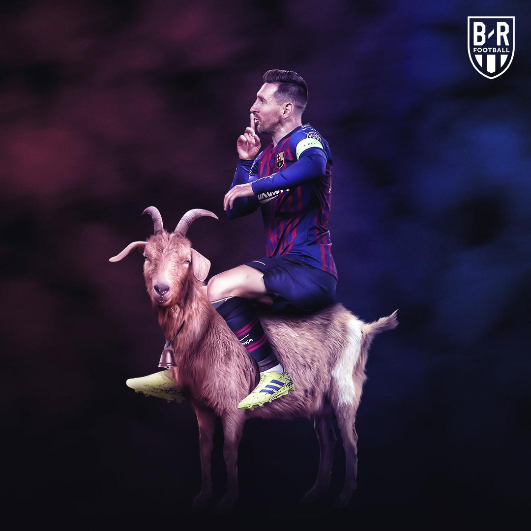 The world ran out of words to describe Lionel Messi yesterday 🤫