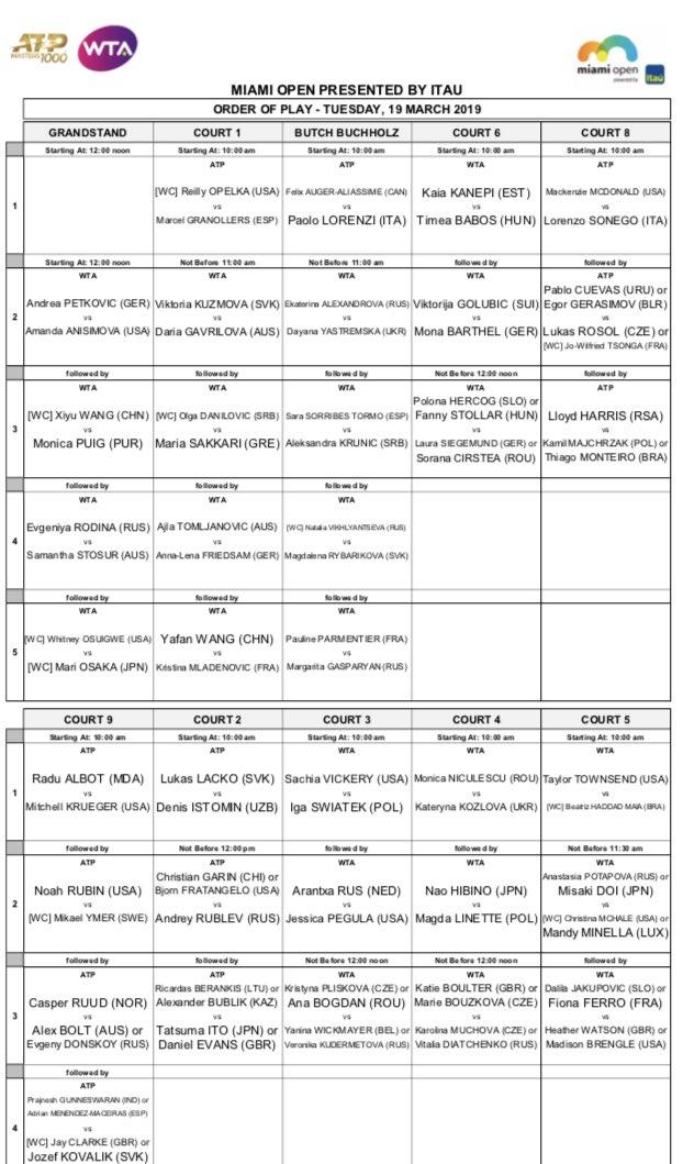 WTA MIAMI 2019 D1-I07HX0AAs_5J
