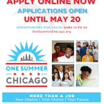 Image for the Tweet beginning: The @1summerchicago application is live!
