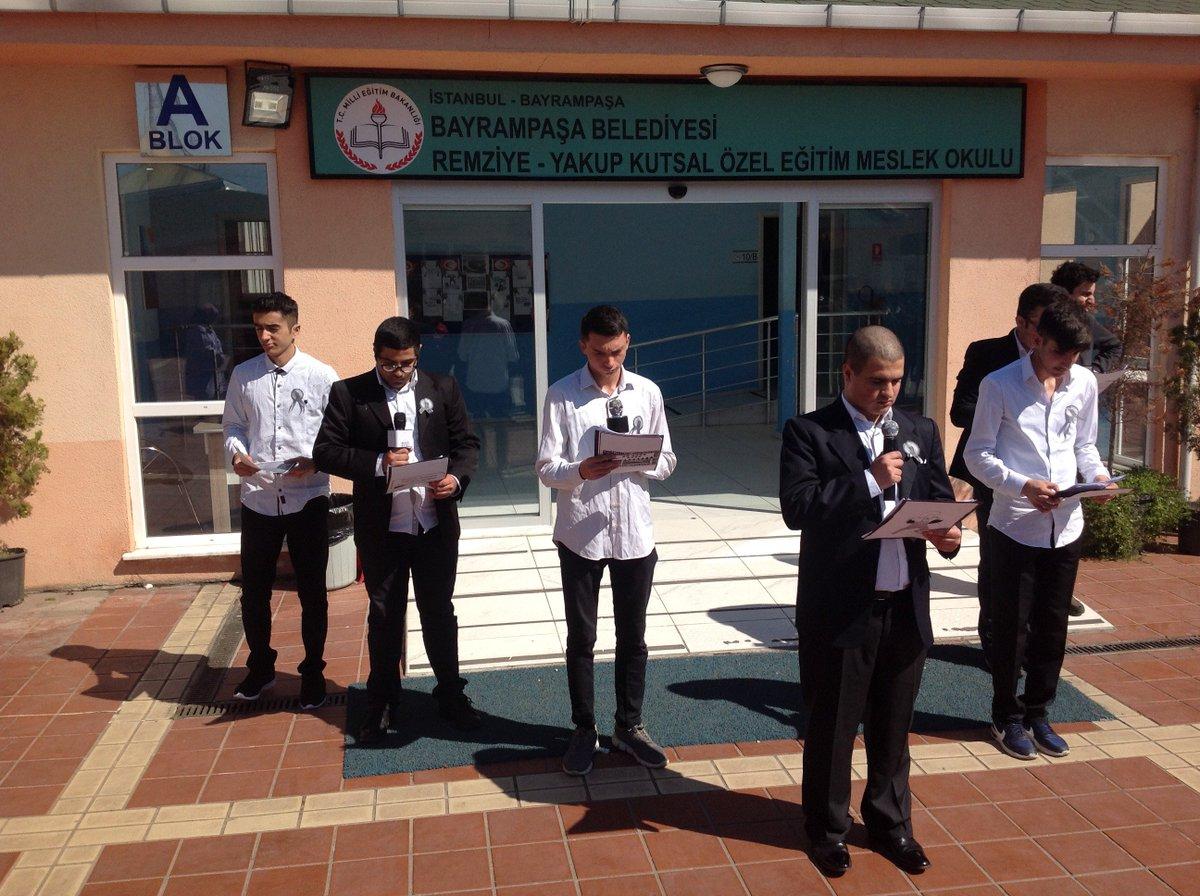 18 Mart Şehitleri Anma Günü ve Çanakkale Deniz Zaferi'nin 104'üncü Yıl Dönümü dolayısıyla okulumuzda tören düzenlendi. #18MartCanakkaleDestanı #ÇanakkaleGeçilmez