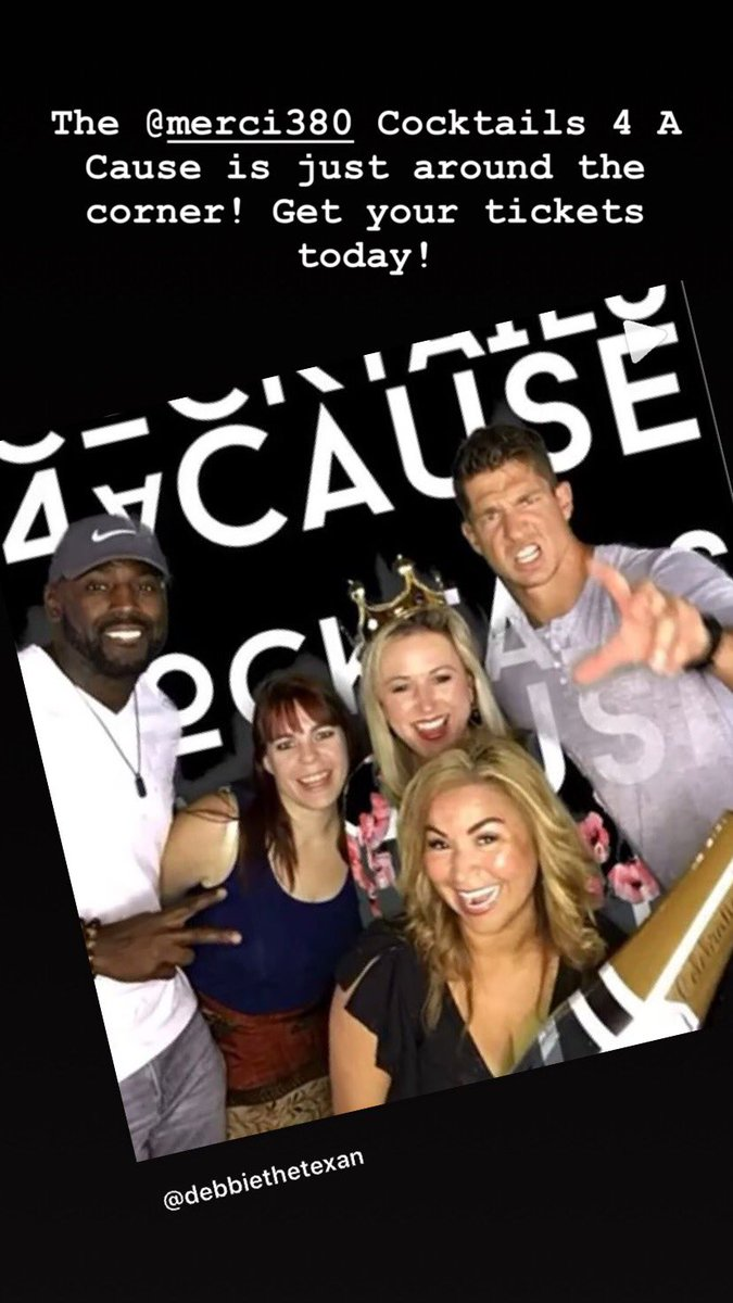 .@HoustonTexans own - Whitney Mercilus Cocktails 4 A Cause event is just around the corner! Buy your tickets today! @WithMerci @Merci380 <br>http://pic.twitter.com/oK6M3oSDwJ