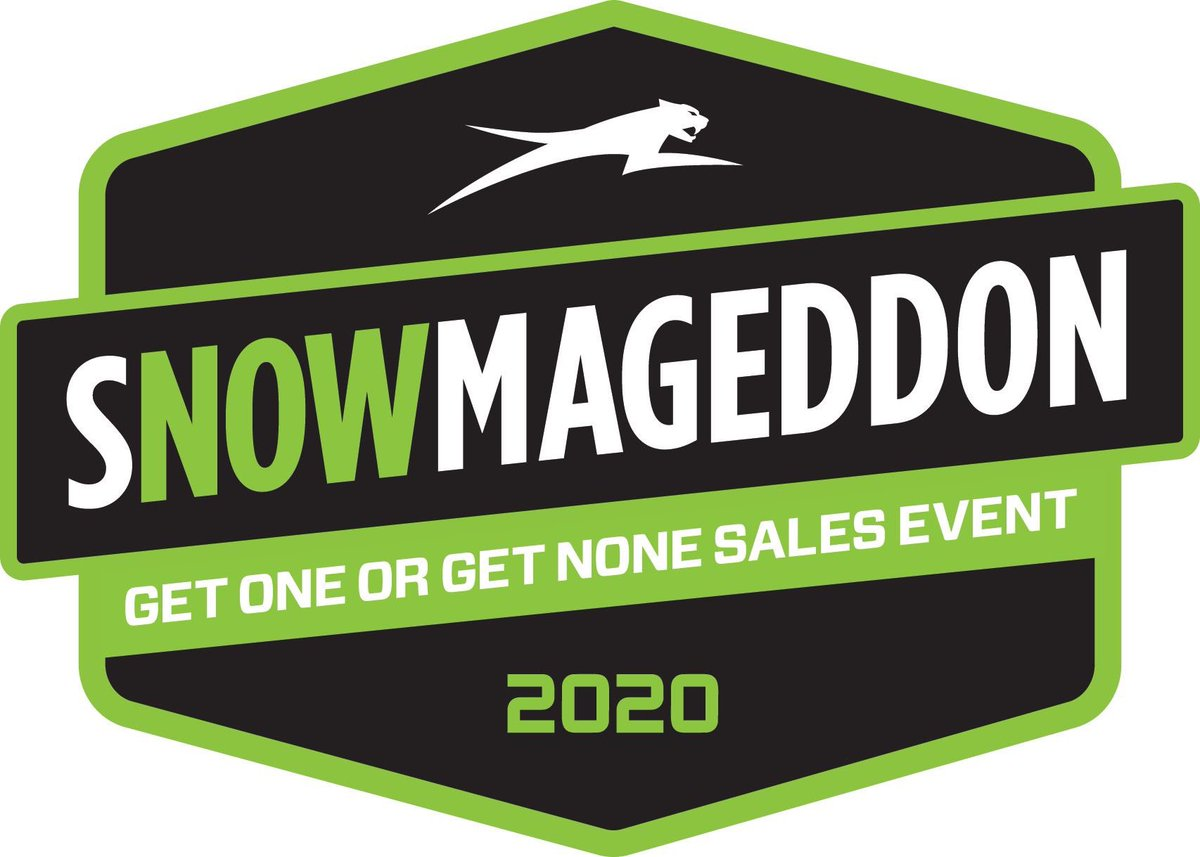 Snowmageddon: Get One or Get None!  We&#39;ve changed the game. Now until April 15 is your only chance to order a 2020 Arctic Cat – and get our most exciting offer ever.  Dealer supplies will be low for 2020&#39;s so Snowcheck you sled today at Mountain Valey Motorsports 800-667-6218 <br>http://pic.twitter.com/N6jMGLAEdt