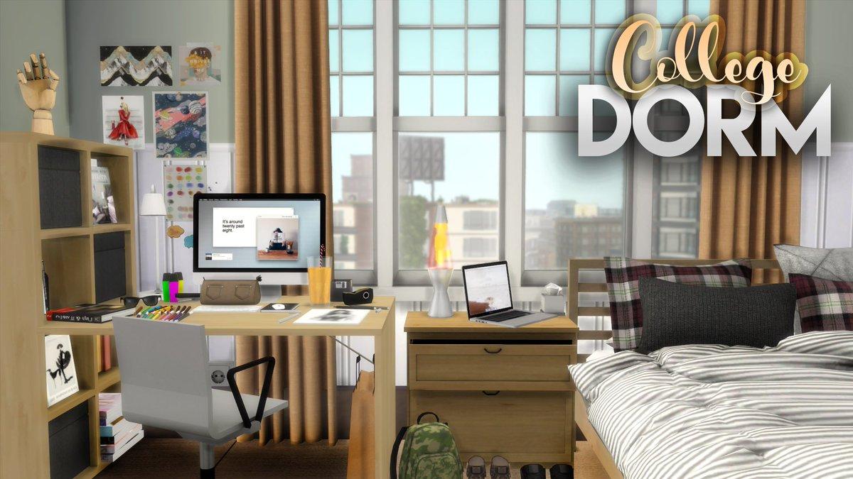 Art Student S Dorm Room Cc