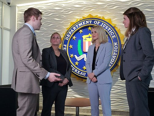 A big thank you to Elizabeth Smart for stopping by to visit with @FBIMilwaukee employees today.  She spoke about her own experience of being abducted as a teen in 2002.  She recently visited the community of Barron, WI to talk healing &amp; moving forward for survivor Jayme Closs. <br>http://pic.twitter.com/Q7VXtO8v4K
