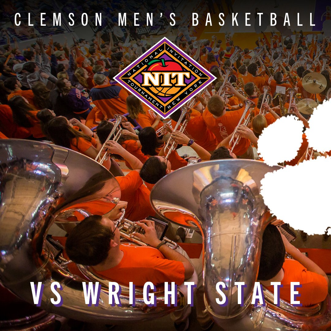 WE'RE IN! Both basketball teams have made a postseason tournament, and our Tiger Pep Band will be right there supporting our Tigers every step of the way!  #TigerRagTour #ClemsonGRIT #TrustLoyaltyCommitment #GoTigers #MarchMadness #ncaaW