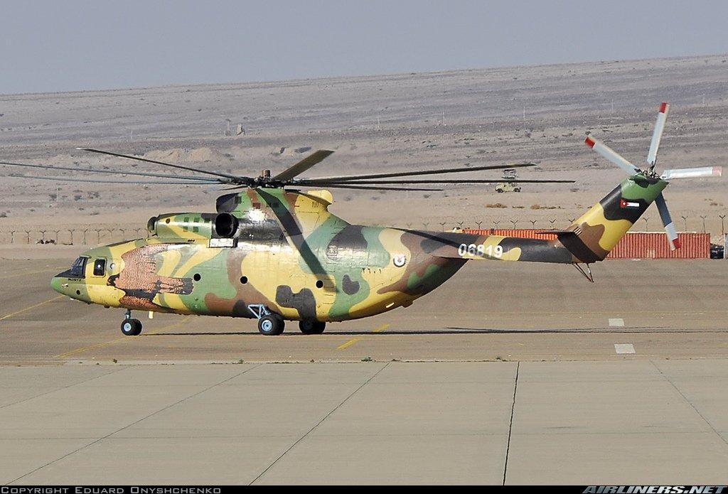 الاردن يوقع صفقه لشراء 4 مروحيات Mi-26T2 من روسيا  D1-TBE8XQAEcyVe