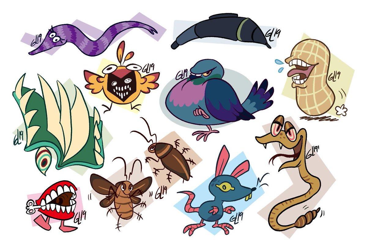 Guia Longasa On Twitter Weird Rpg Enemy Designs With One Enemy