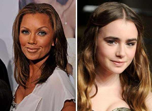 HAPPY BIRTHDAY !  Vanessa Williams  and  Lily Collins