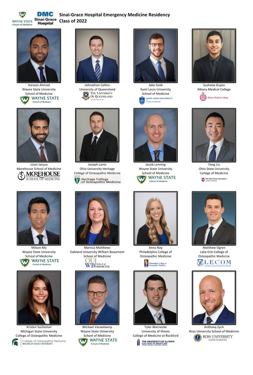Welcome Class Of 2022 Residents The Department Of Emergency