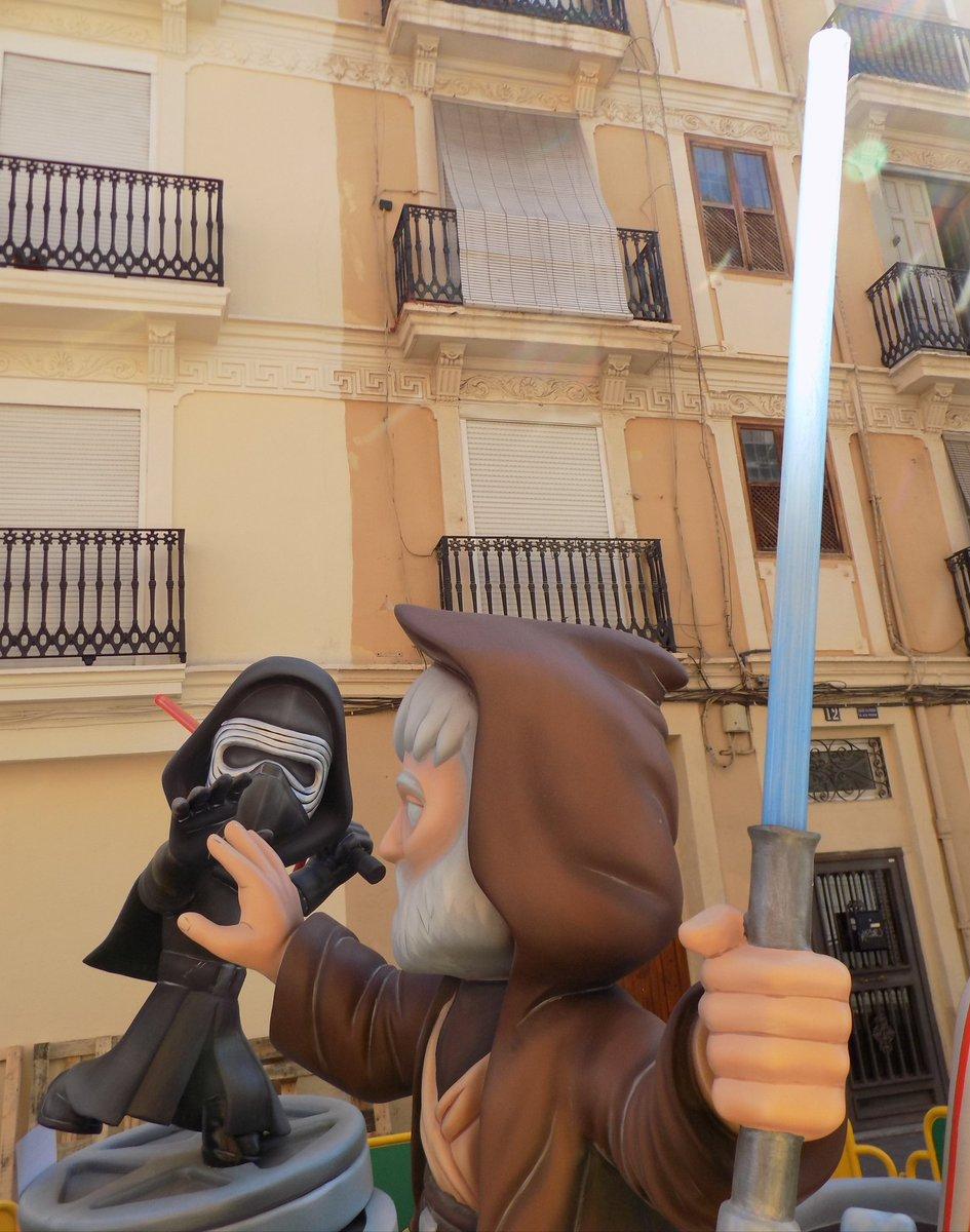 #Starwars #Fallas2019 #Valencia