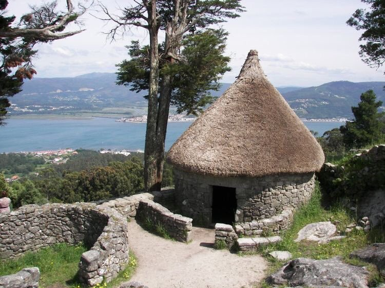 One of the ancient Celtic villages in Galicia, #Spain