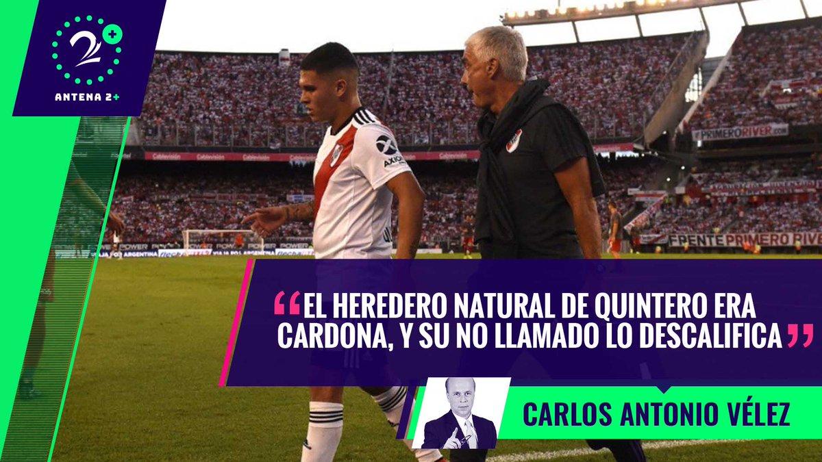 #PalabrasMayores (18 de marzo de 2019) Audiocolumna de @velezfutbol ¡Domingo de miércoles! Perdimos una pieza vital para la Copa América; Quintero y Ospina bajas sensibles ▶️ https://goo.gl/9h1WBr