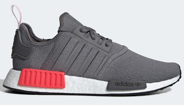 Savings over 35% OFF retail are active for the grey shock red adidas NMD R1  at  79.99 + FREE domestic US shipping! BUY HERE -  http   bit.ly 2Crlq3b  (use ... 9f4b4f2327