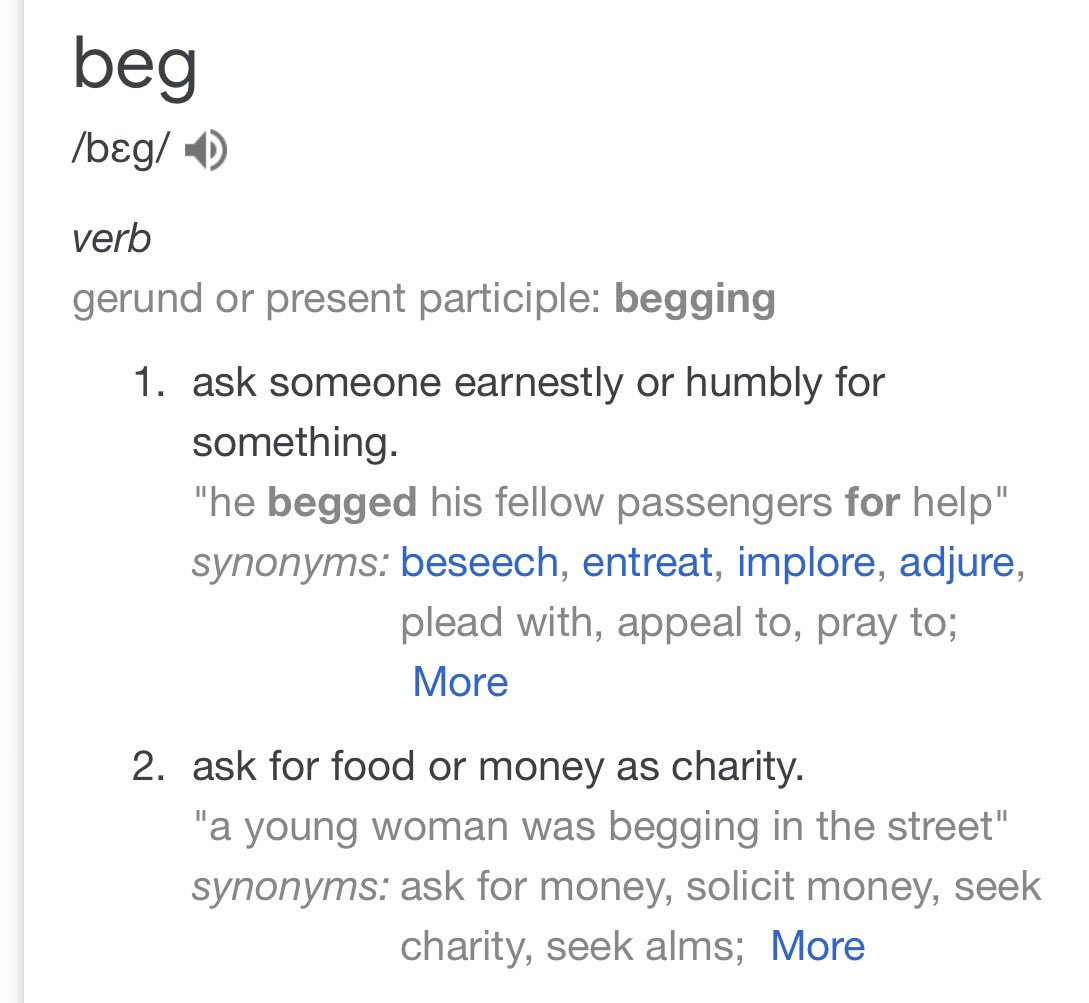 """You're begging""   That cop needs an attitude adjustment. You have to a actually ASK to beg. An assumption of giving is NOT begging #60daysonthestreets <br>http://pic.twitter.com/RqVWKmbSbV"