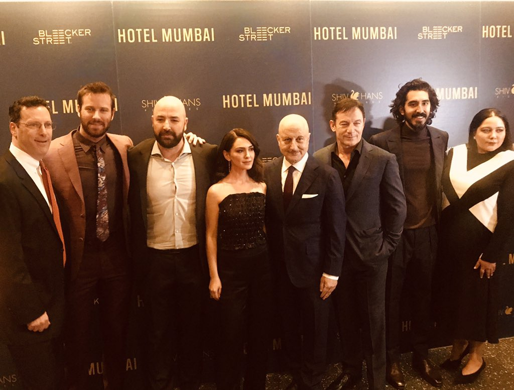 Pics from the premiere of @hotelmumbaifilm.:)