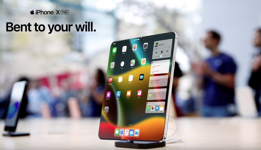 Stunning concept video shows us what Apple's foldable iPhone could look like http://bit.ly/2TcgB3i via @BGR #apple #computing #geek #iphone #mobile