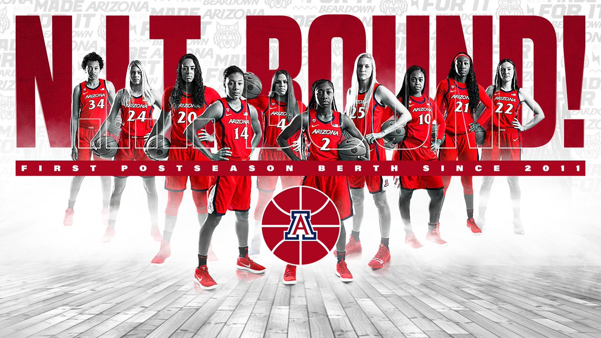 For the first time in eight years, your Arizona Wildcats are headed to the postseason  #MadeForIt | #BearDown <br>http://pic.twitter.com/2vTBBFvrVt