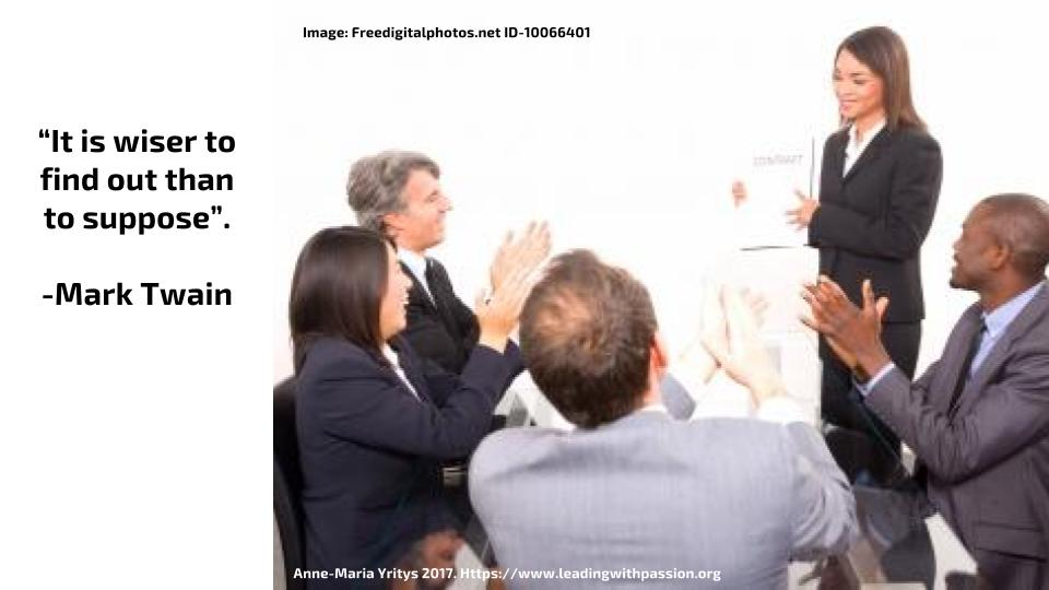 Why is it wiser to find out than to suppose? http://bit.ly/JUDGMENT555 #leadership #wisdom
