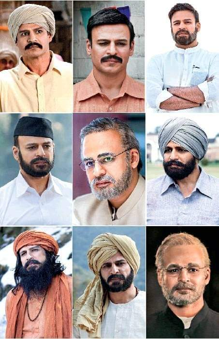 Various looks of #VivekOberoi in #PMNarendraModi, his next after playing the antagonist in films like #Vivegam and #VinayaVidheyaRama.   The biopic, directed by #OmungKumar, is slated to release on 12 April, coinciding with the Lok Sabha elections.   #Modi #NarendraModi<br>http://pic.twitter.com/xLaFWGKssO