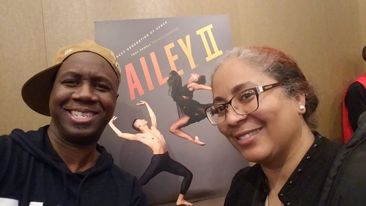 "Hanging with my BFF since 1982 when I wanted to be Leroy from ""Fame"" and she wanted to be ""CoCo."" Can't touch our toes anymore but we can still touch each other's heart.  #kickballchange #alvinailey"