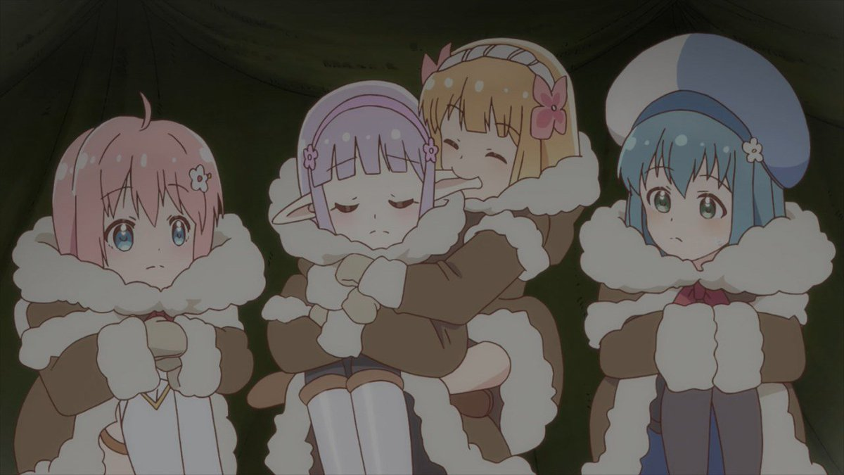 RT @HolyAjora: Do we even need a villain? The Hero's party is dangerous enough on their own.  #endro 10 https://t.co/D8eVoq3UhQ