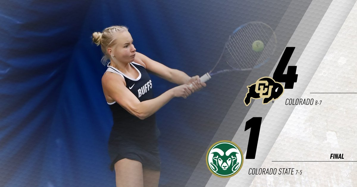 That makes 34 straight wins against CSU as the Buffs remain undefeated all-time against the Rams! #GoBuffs
