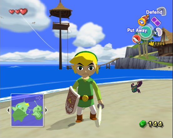 I'm surprised at how well Wind Waker has aged. #LegendofZelda #Gamecube<br>http://pic.twitter.com/SqjfeCXTfv