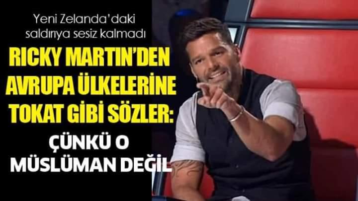 Zeki Bahçe #RTE's photo on Ricky Martin