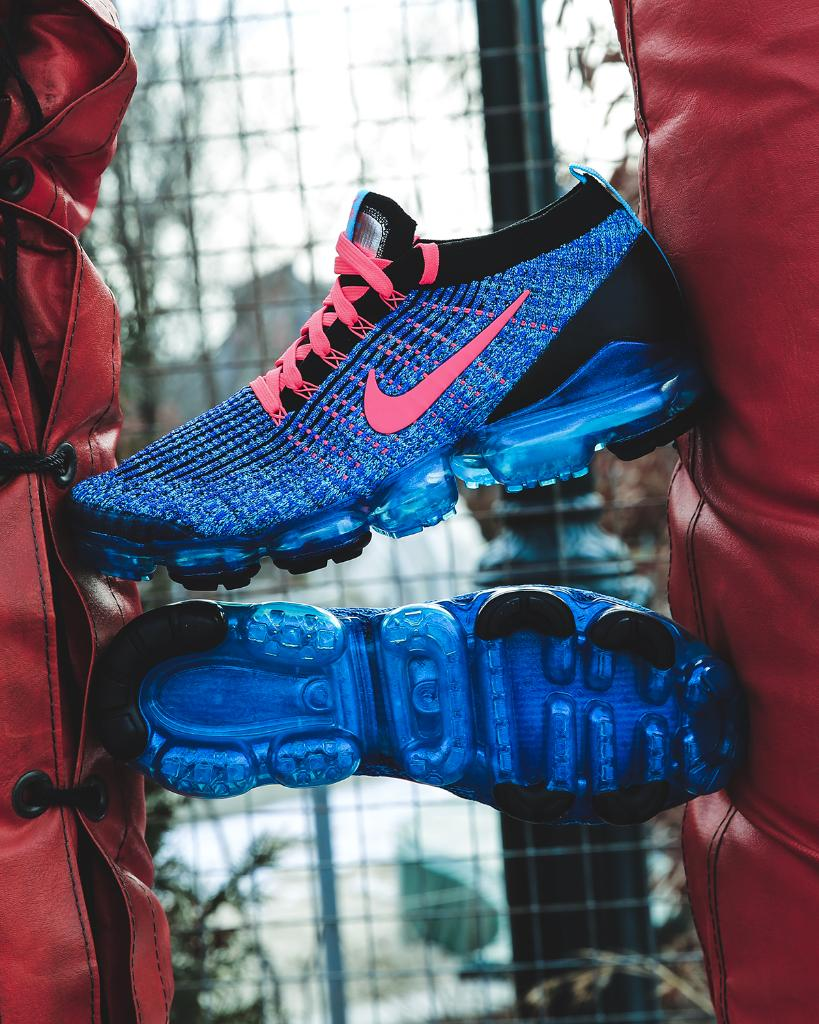 16ea3b24b8750 blue flames nike air vapormax flyknit 3 blue fury available now in store  and online