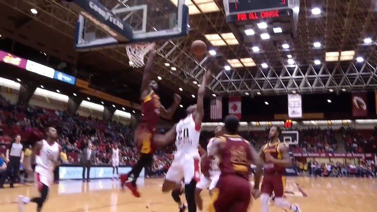 JaCorey Williams (@_JWilliams22) with the REJECTION at the rim 🙅♂️  @MT_MBB ↗️ @CantonCharge   @ErieBayHawks 🆚 @CantonCharge: https://twitch.app.link/U7Ybfv1E2T
