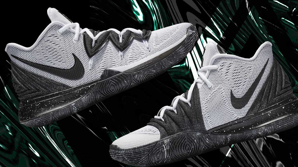 43c4200cb3f4 the nike kyrie 5 arrives in a classic black and white look on 3 22 nike