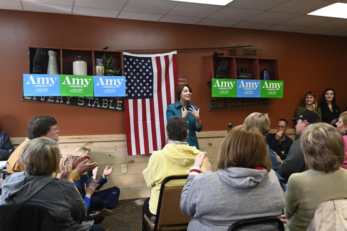 What a great name: Independence, Iowa! Thank you to the many people who came out — we talked about everything from lowering prescription drugs costs to strengthening the Farm Bill.