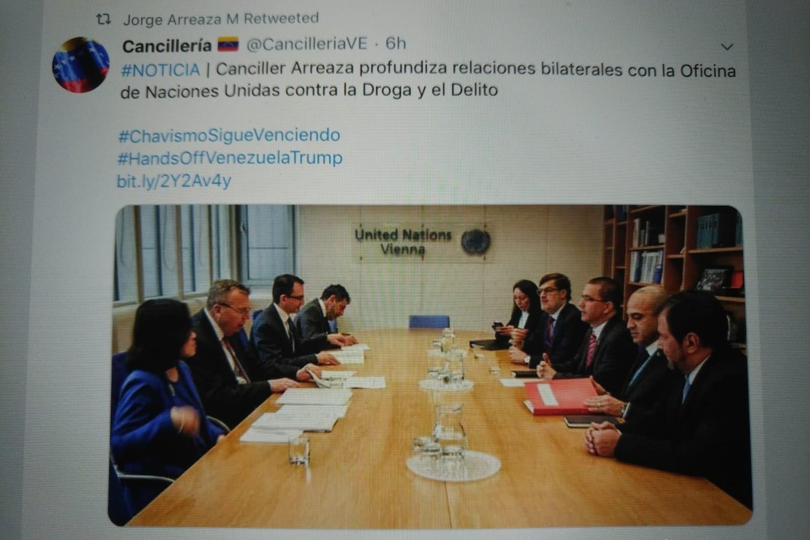 Diego E. Arria on Twitter