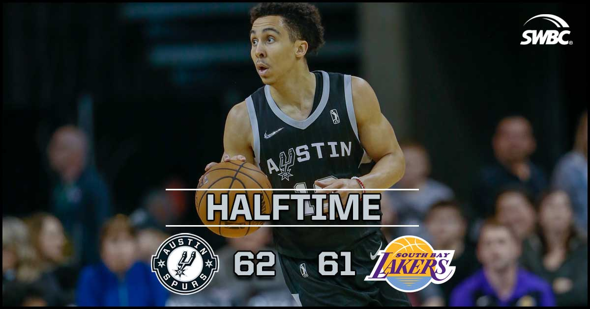 Halftime Update: Spurs 62 / Lakers 61