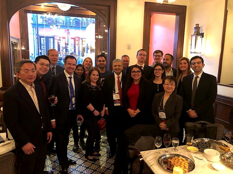 Great turnout at our 2nd Annual #Cardiology Fellowship Alumni Reception at ACC! #ACC19