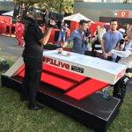 Post-race media well underway! #AusGP