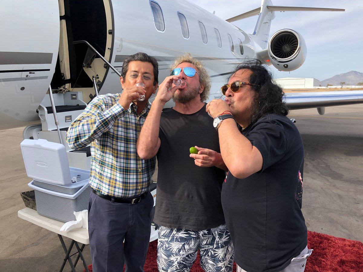 Sammy Hagar On Twitter This Is What S Going On In Cabo Toby And I Played 2 1 2 Hours Last Night At The Cantina This Is Jorge And Sebastian The Owner Of The Airport