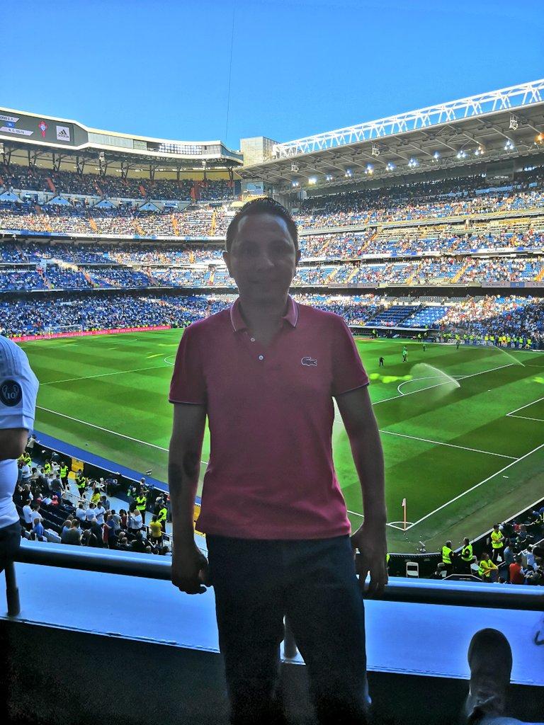Fútbol por el mundo @realmadrid #SantiagoBernabeu