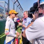 Pre-race interviews for both @Carlossainz55 and @LandoNorris. 🎙️ #AusGP 🇦🇺