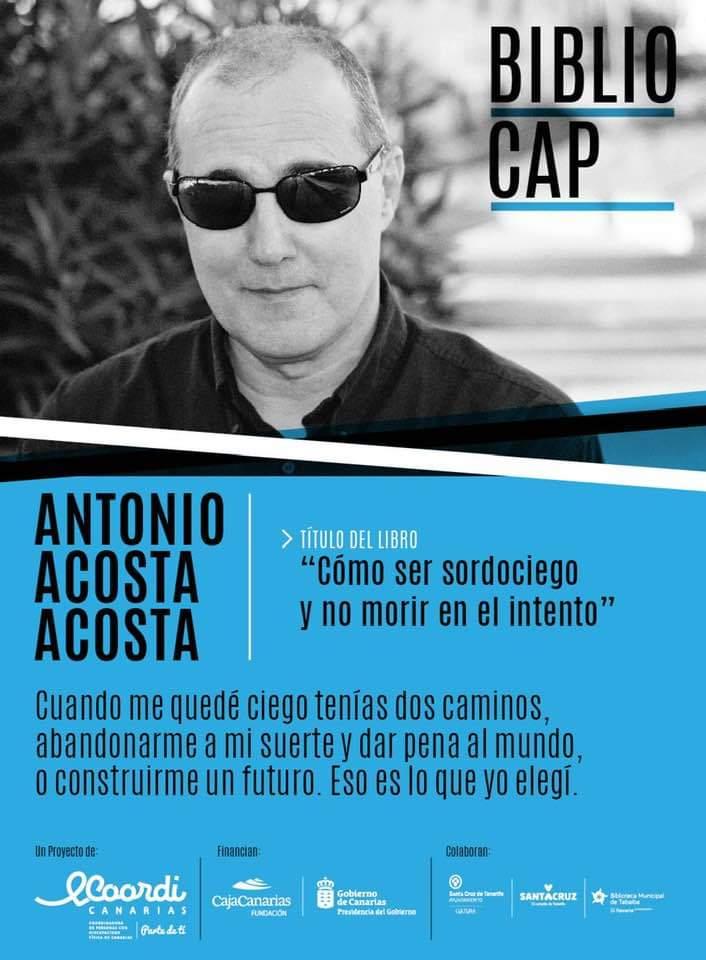 """Presentación libro """"Cómo ser sordociego y no morir en el intento"""" - 21 marzo, Tenerife D123Cr3X4AIBHjb"""