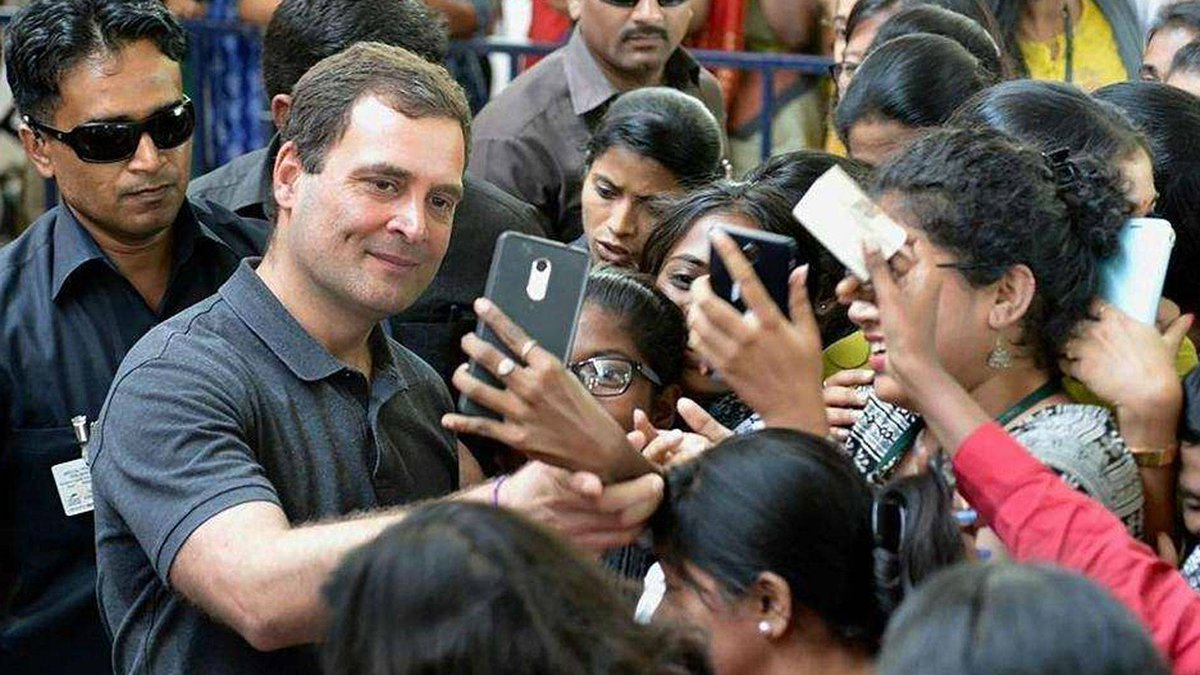'Rahul, naam toh suna hoga': Is @RahulGandhi, the 'most eligible bachelor of India', back? | http://ow.ly/8Kq530o4Dmb