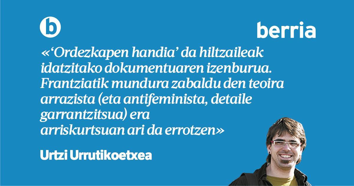 'Munstroa, antipodetatik etxera', @urtziurruti-ren #LekuLekutan https://www.berria.eus/paperekoa/1981/021/001/2019-03-17/munstroa_antipodetatik_etxera.htm…