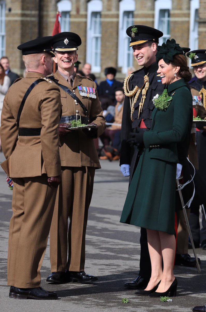 The Duke and Duchess of Cambridge attend St Patrick's Day parade