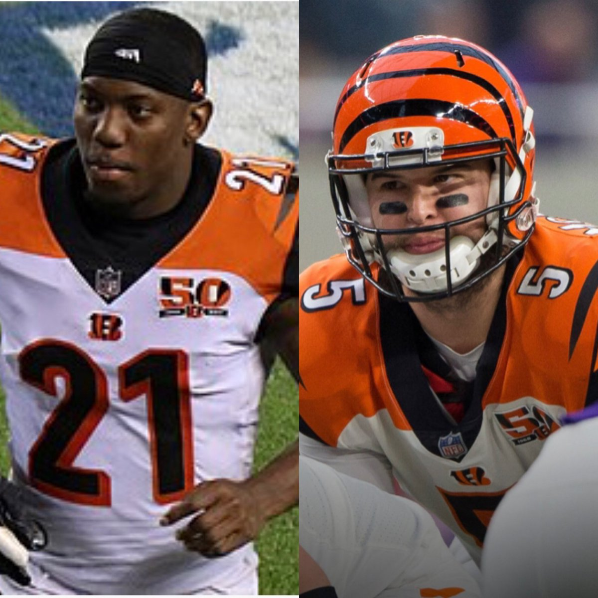 So #BengalsTwitter nation, we are into the first weekend of ⁦@NFL⁩ free agency. Is Darquez Dennard about to learn what AJ McCarron did last year?! He and his reps OVERVALUED his worth. He's a slot corner like McCarron was just a backup. He'll be paid as a SLOT CB. <br>http://pic.twitter.com/jmQjfNP6q9