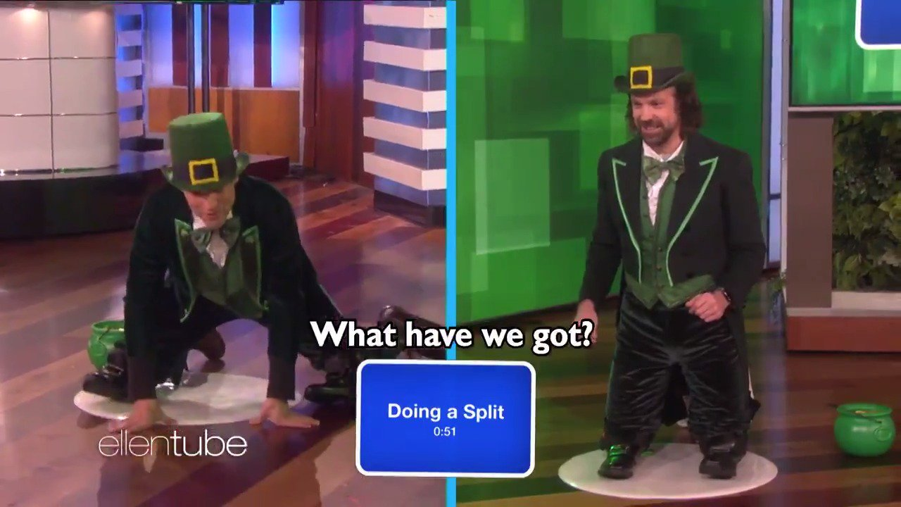 Happy #StPatricksDay! I hope you watch this while eating a green bagel. @headsup @iamgreenfield https://t.co/BWc7aAZlkE