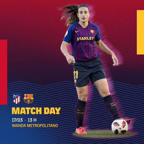 FC Barcelona Femení's photo on MATCH DAY