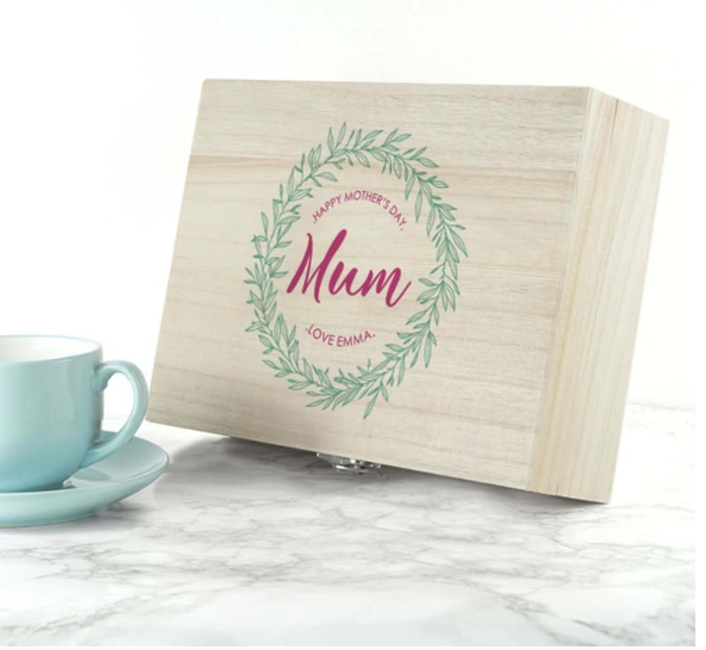 We are giveaway this stunning Mothers Day Tea Box all you need to do to enter is follow us and also retweet this. The winner will be announced Sunday 24th March at 8pm #giveaway #GiveawayAlert #CompetitionTime #competition #mothersdaygifts #Mothersday2019 #win #personalisedgift<br>http://pic.twitter.com/zQCVqHWPf5