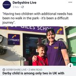 @HillF1  hi   could you please read and share as im raising money for children with special needs who attends st giles school in derby  Thank you  Hayley