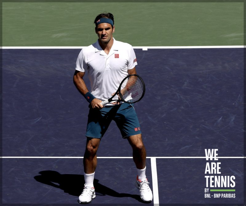 We Are Tennis Italia's photo on Federer